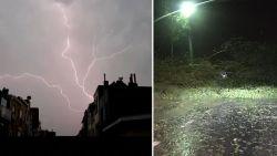 Windhoos en hevig onweer treft Westkust: rampenplan in Koksijde