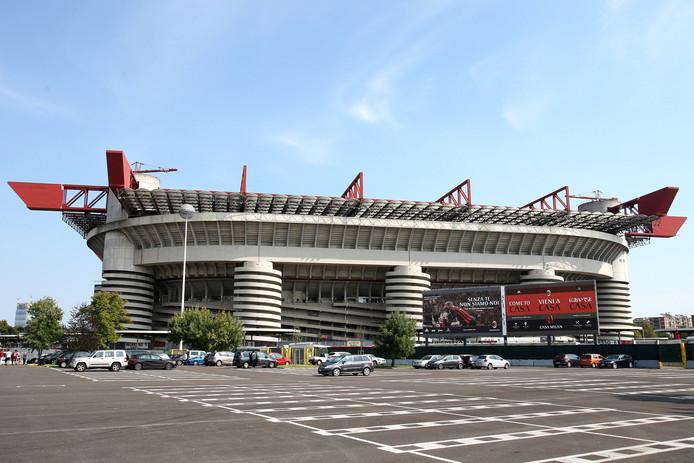 San Siro, het stadion van AC Milan.