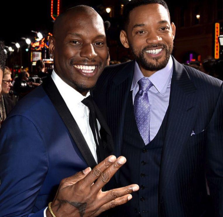 Will Smith en Tyrese Gibson zijn de beste vrienden.
