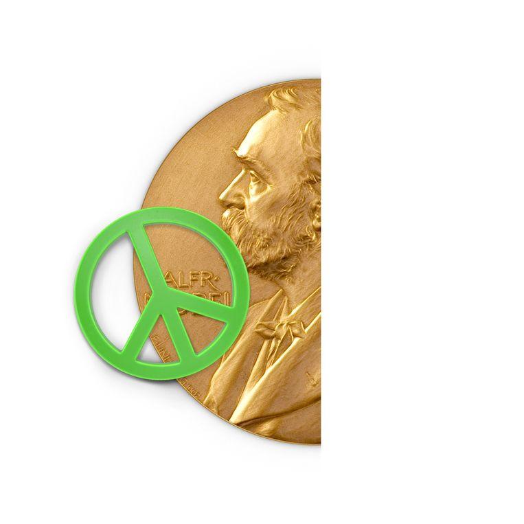 Nobelprijs Vrede.  Beeld JeRoen Murré