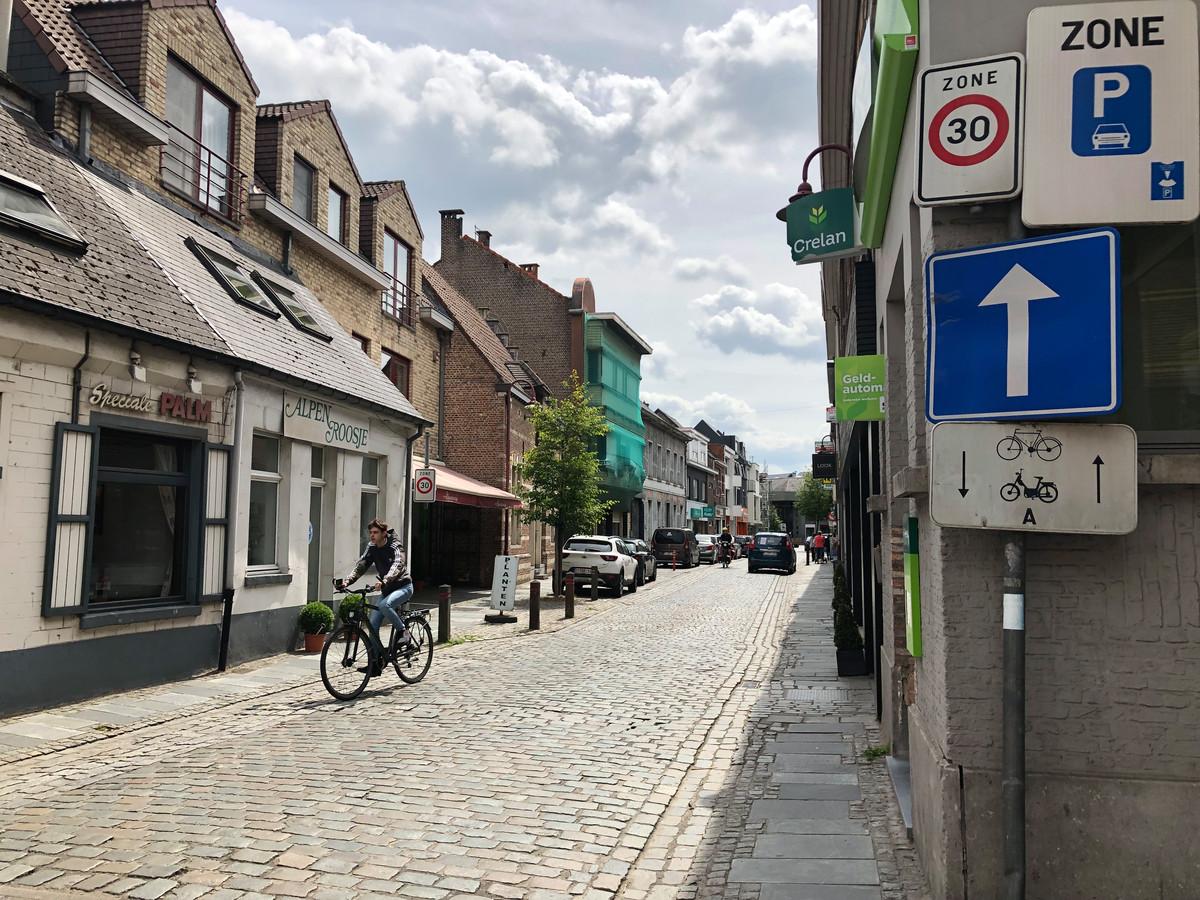 De Dorpsstraat wordt een fietsstraat vanaf 1 juli.