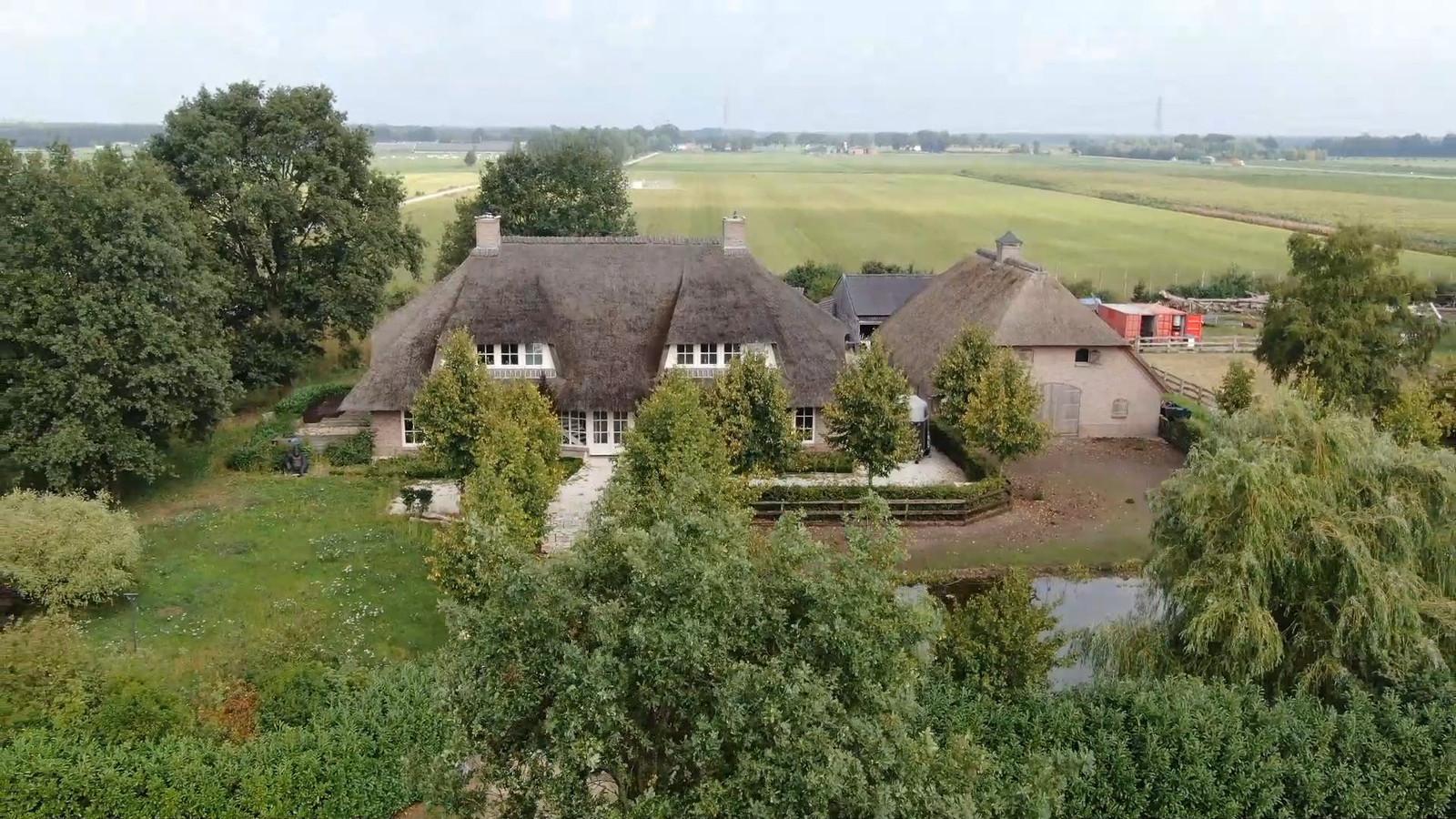 Het landgoed in Witharen van Mastenbroek.