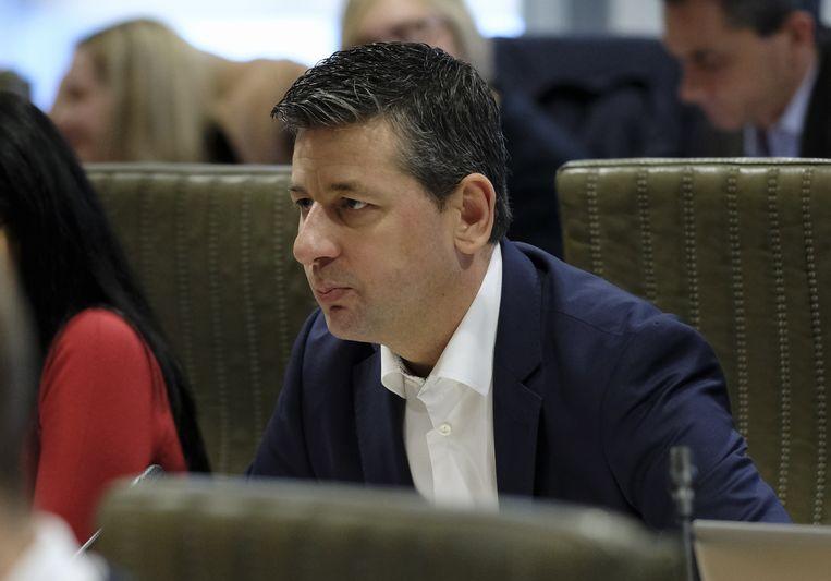 Chris Janssens, fractieleider van Vlaams Belang in het Vlaams Parlement.