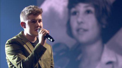 Kippenvelmoment bij Rode Neuzen Dag: transjongen Lou zingt een duet samen met zijn vroegere meisjesstem