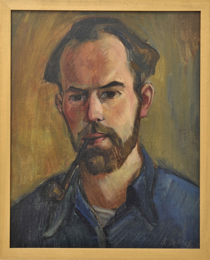 Een zelfportret van Riemko Holtrop.