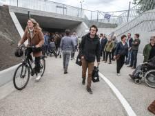 Na 25 jaar wachten is er eindelijk een fietstunnel om de Dampoort te vermijden