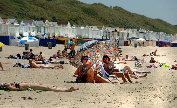 Strand bij Dishoek.