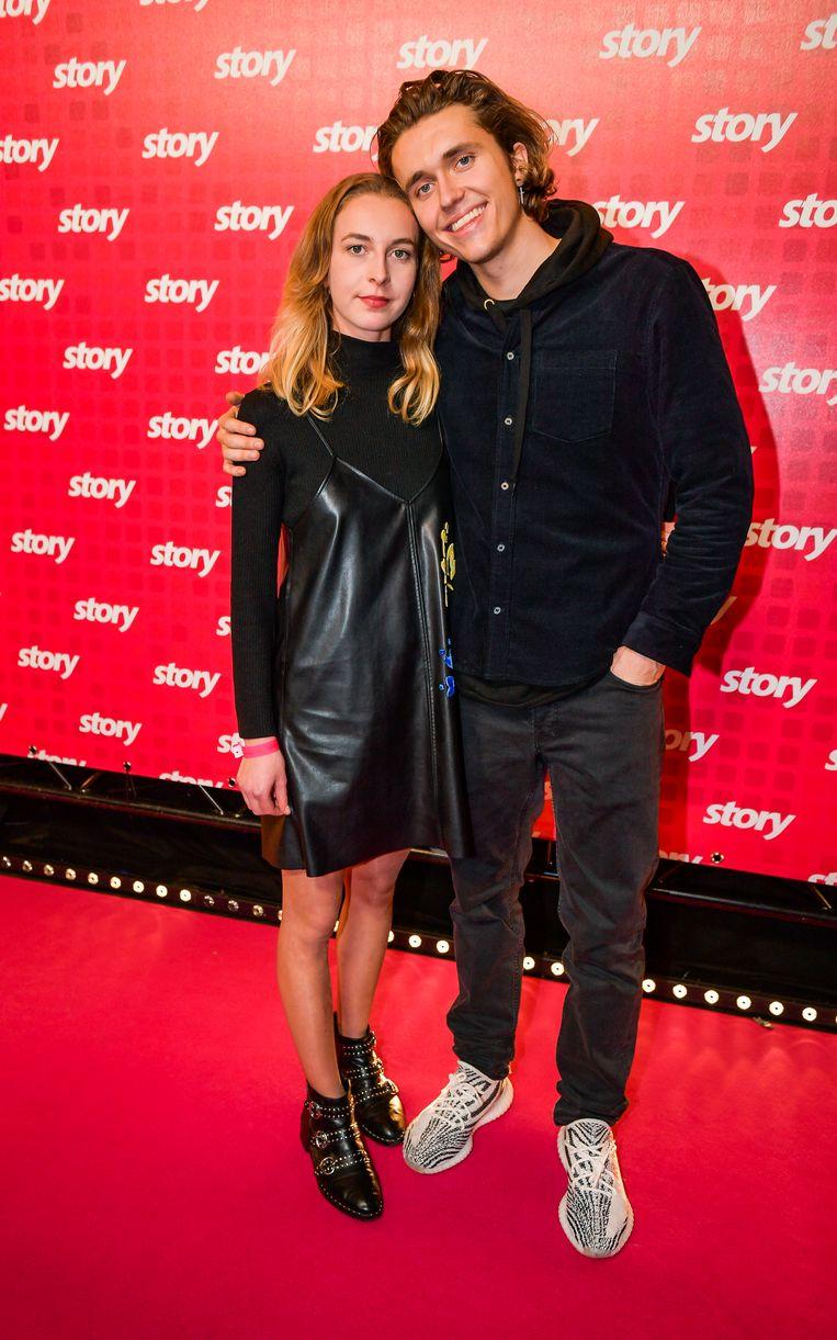 Ian Thomas en vriendin