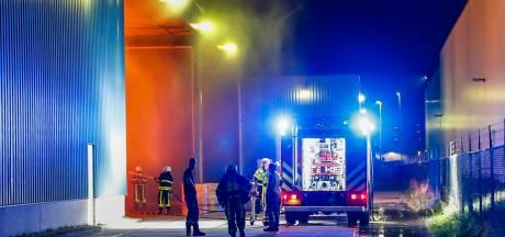 Brand in opslag van REK Europe in Oosterhout