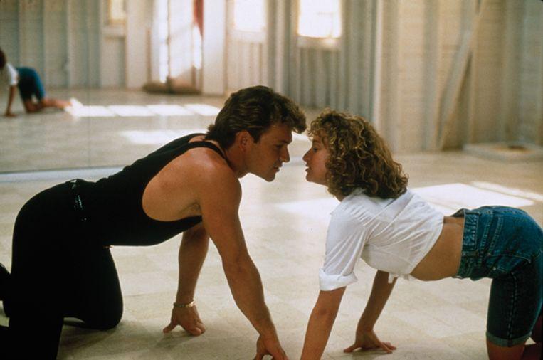 Patrick Swayze en Jennifer Grey in Dirty Dancing van Emile Ardolino. Beeld