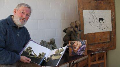 Kunstenaar Georges Schelstraete maakt beeld voor 80ste verjaardag Will Tura