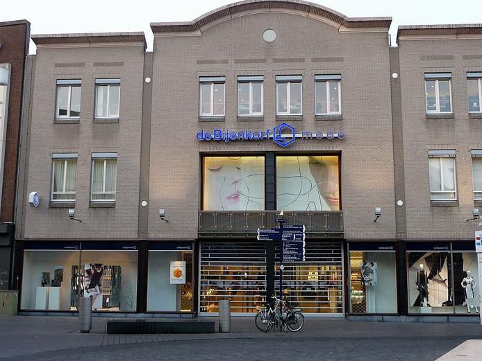 De inmiddels gesloten Bijenkorf in Den Bosch.
