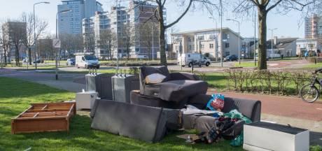 Matrassen, bankstellen en andere rommel: elke week is het raak op de Paladijnenweg