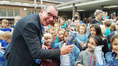 Acteur Herman Verbruggen promoot kraantjeswater in De Kleine Prins