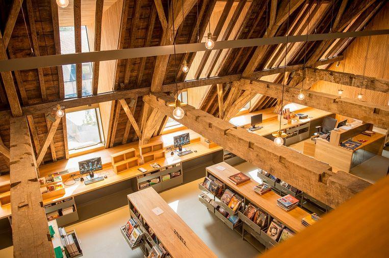De bibliotheek in Het Predikheren