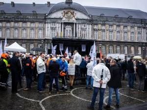 Près de 700 policiers réunis à Liège pour dire stop aux violences