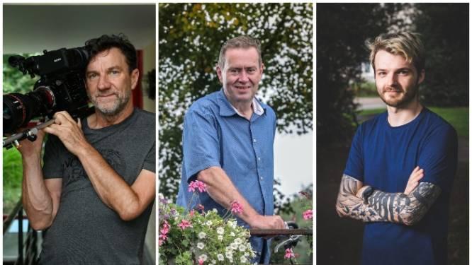Stefaan (59), Johan (59) en Glenn (28) kregen het coronavaccin al