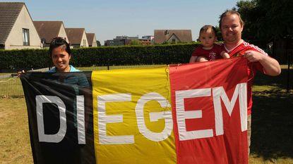 België-Engeland, met een knoert van 'reclame' voor Diegem