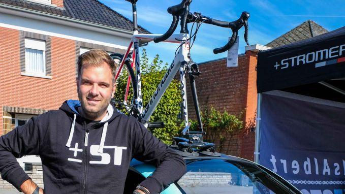 Tien dagen na inplanten pacemaker: Niels Albert verkoopt weer fietsen