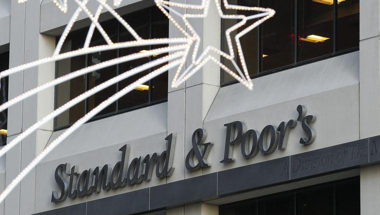 Kantoor van kredietbeoordelaar Standard & Poor's Beeld reuters