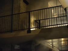 Brand in flatgebouw Breda, woningen tijdelijk ontruimd
