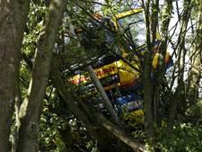 A73 weer vrijgegeven na ongeval met vrachtwagen
