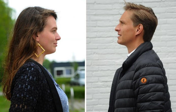 Kim van Sparrentak en Martijn Grevink.