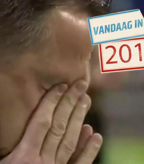 John van den Brom huilt om zijn zieke voetbalmaatje Theo Bos