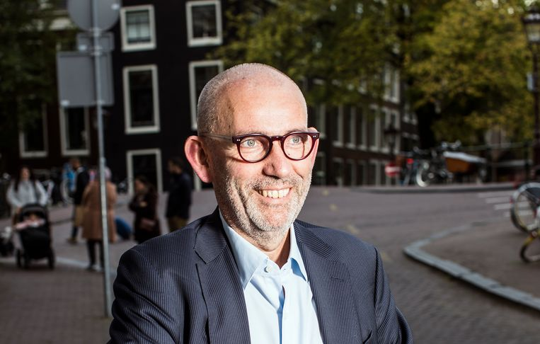 Joost Lagendijk in 2016 in Amsterdam. Beeld null