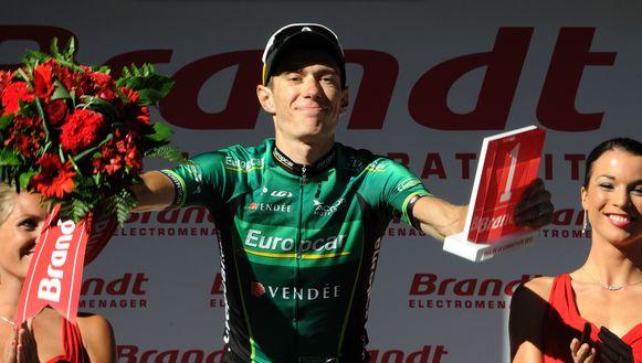 Pierre Rolland staat vrijdag voor het eerst aan de start van de Giro.