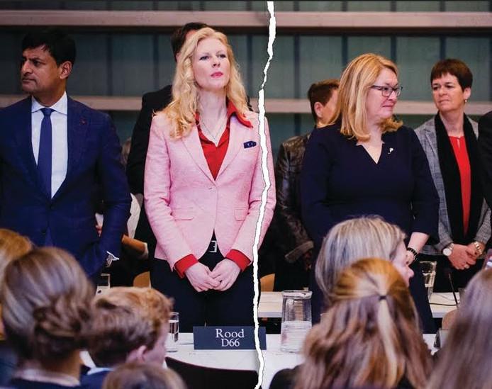 Onder meer D66 in de Hoeksche Waard viel uiteen.