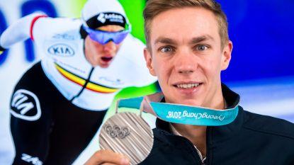 Koning Filip ontvangt maandag medaillewinnaar Bart Swings