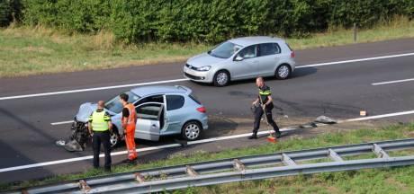 File door ongeval op A58 bij 's-Heer Arendskerke