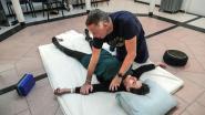 Massagemarathon in kader van De Warmste Week