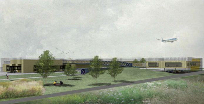 De werken aan de nieuwe stelplaats vlakbij de luchthaven van Deurne starten in 2022.