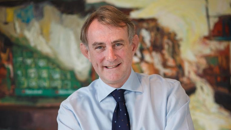 Bestuursvoorzitter van Heineken Jean-François van Boxmeer. Beeld Jasper Juinen