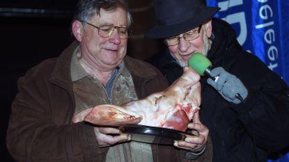 Varkenskoppen geofferd op feest van Sint-Antonius