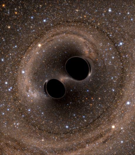 Bam! Miljarden jaren oude zwaartekrachtgolf schoot langs de aarde