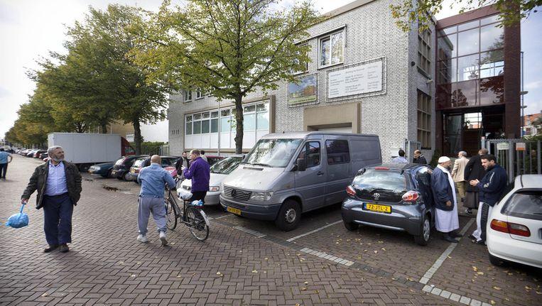 Exterieur van de As-Soennah moskee in Den Haag in 2010. ANP Beeld