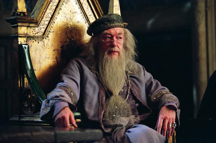 MICHAEL GAMBON als Albus Dumbledore.