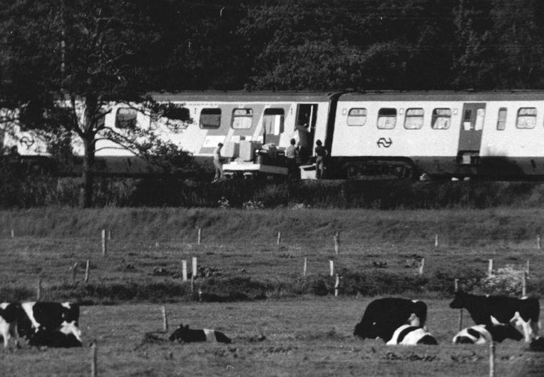 De treinkaping in 1977. Beeld anp