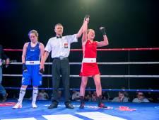 Roosendaalse Chelsey Heijnen knokt zich naar eerste nationale bokstitel