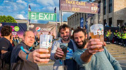 Stad Brussel verbiedt wegwerpplastic op grote evenementen