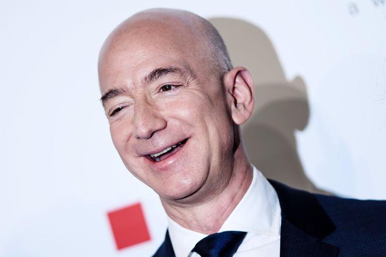 Amazon-baas Jeff Bezos is de rijkste man ter wereld. Beeld EPA