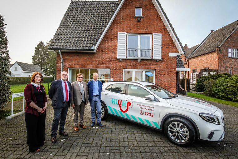 Torhout: huisartsenwachtpost: Tine Vanblaere, Lieven Wostyn, Joost Blontrock, Pierre Vancrutsen.