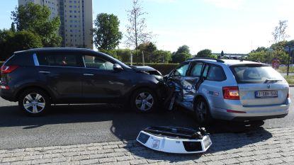 Rijdende 'boetemachine' van Gents Mobiliteitsbedrijf vernield na aanrijding