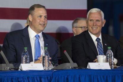 """Mike Pence: """"Nieuw ruimtevaartcommando wordt volgende week gelanceerd"""""""