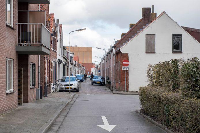 De Terneuzense binnenstad waar de afgelopen jaren vrij veel (goedkope) koopwoningen zijn opgekocht om ze meteen door te verhuren aan onder anderen arbeidsmigranten.