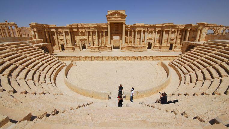 Het theater van Palmyra in 2008. Beeld REUTERS
