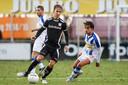 Roy Terschegget, hier in actie tegen FC Lienden, heeft vertrouwen in een goed seizoen voor GVVV.